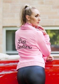 Authentic Plus Size Pink Ladies Jacket Alt 1
