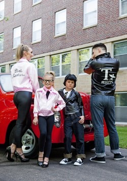 Adult Pink Ladies Jacket Alt 3