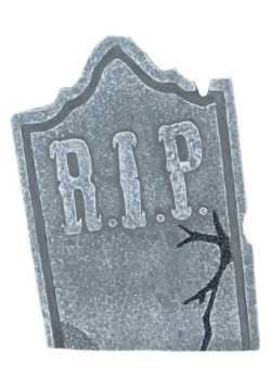 Halloween Decoration Tombstone Set - Crooked Stone alt1