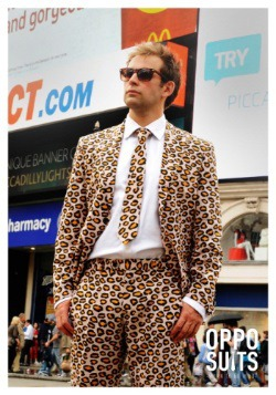 Men's OppoSuits Jaguar Animal Printed Suit