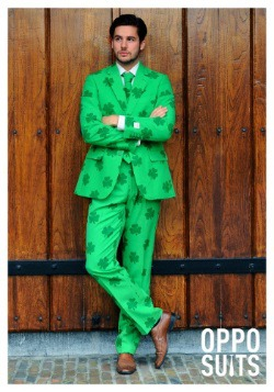 Mens OppoSuits Green St Patricks Day Suit 2