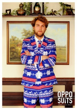 Mens Christmas Sweater Suit3
