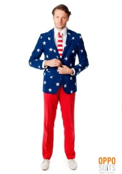 Men's OppoSuits Stars and Stripes Suit