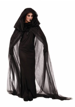 Dark Women's Sorceress Costume Dress