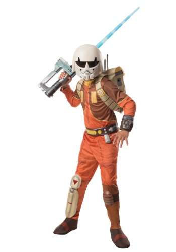 Child Deluxe Ezra Star Wars Rebels Costume