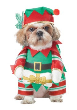 Elf Pup Dog Costume