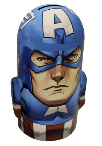 Captain America Tin Bank