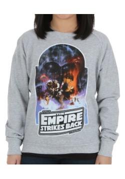 Empire Strikes Back Juniors French Terry Sweatshirt