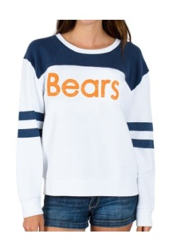 NFL Chicago Bears Champion Color-Blocked Fleece Sweater