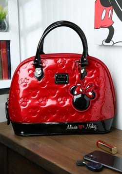 Mickey and Minnie Disney Embossed Bag