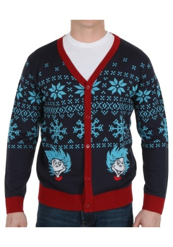 Dr Seuss Frosty Thing 1 and 2 Sweater