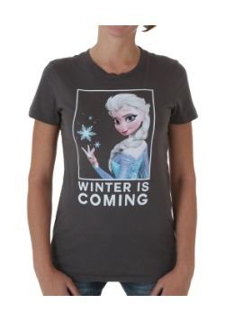 Frozen Elsa Winter Box Juniors T-Shirt