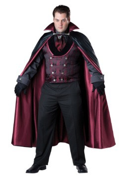 Plus Size Men's Midnight Vampire Costume