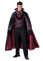 Men's Nocturnal Count Vampire Costume