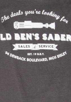Star Wars Old Ben's Sabers Men's T-Shirt2