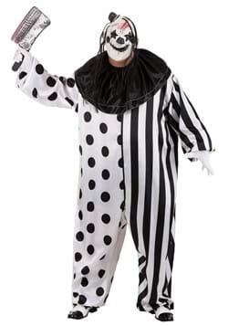 Men's Killer Clown Plus Size Costume-1