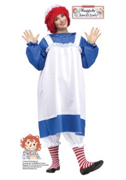 Raggedy Ann Plus Size Costume For Adults
