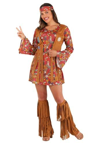 Peace & Love Hippie Womens Costume