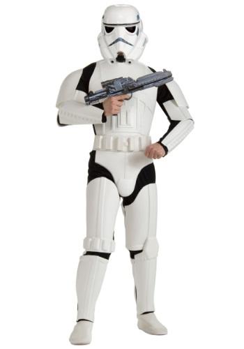 Adult Deluxe Plus Size Stormtrooper Costume
