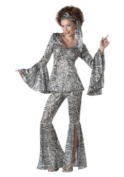 Foxy Disco Lady Women's Costume