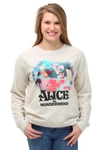 Alice In Wonderland Classic Tea Party Junior Sweatshirt