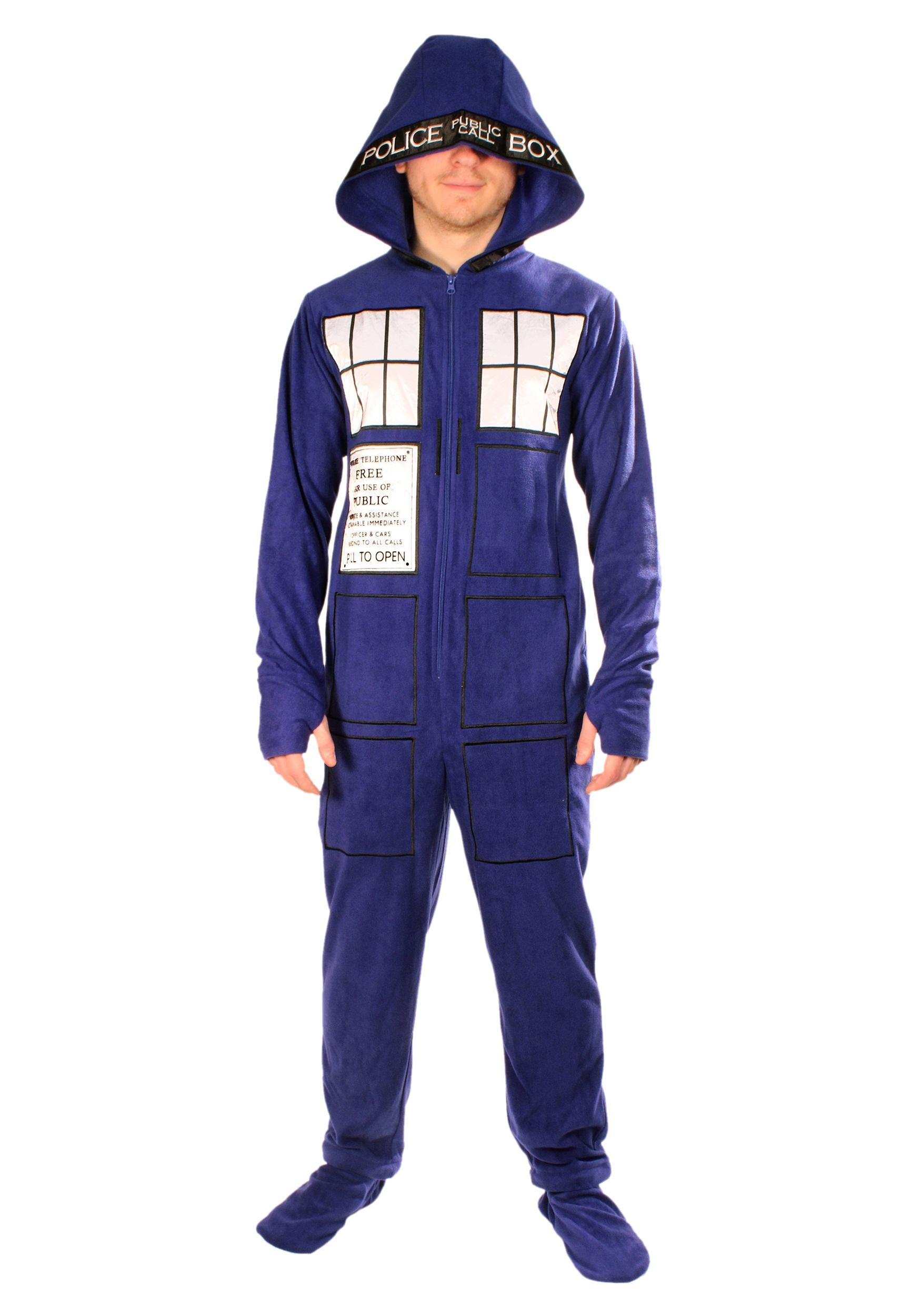 b18a946efe Adult Doctor Who Tardis Pajamas