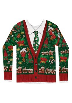 Men's Ugly Christmas Cardigan Alt 2