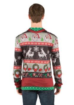 Adult Ugly Frisky Deer Sweater2