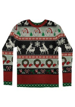 Adult Ugly Frisky Deer Sweater4