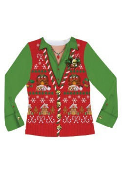 Women's Ugly Christmas Sweater Vest3