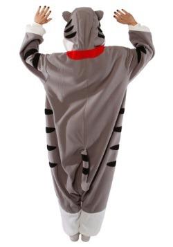 Adult Tabby Cat Pajama Costume2