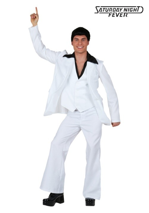 Adult Deluxe Saturday Night Fever Costume