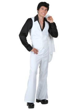 Plus Size Deluxe Saturday Night Fever Costume2