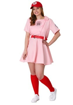 Plus Size League of Their Own Dottie Costume alt 2