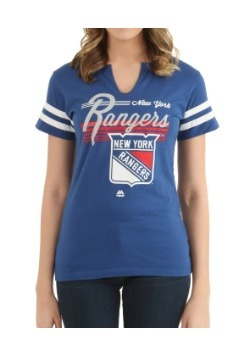 Womens Goal Cage New York Rangers Shirt