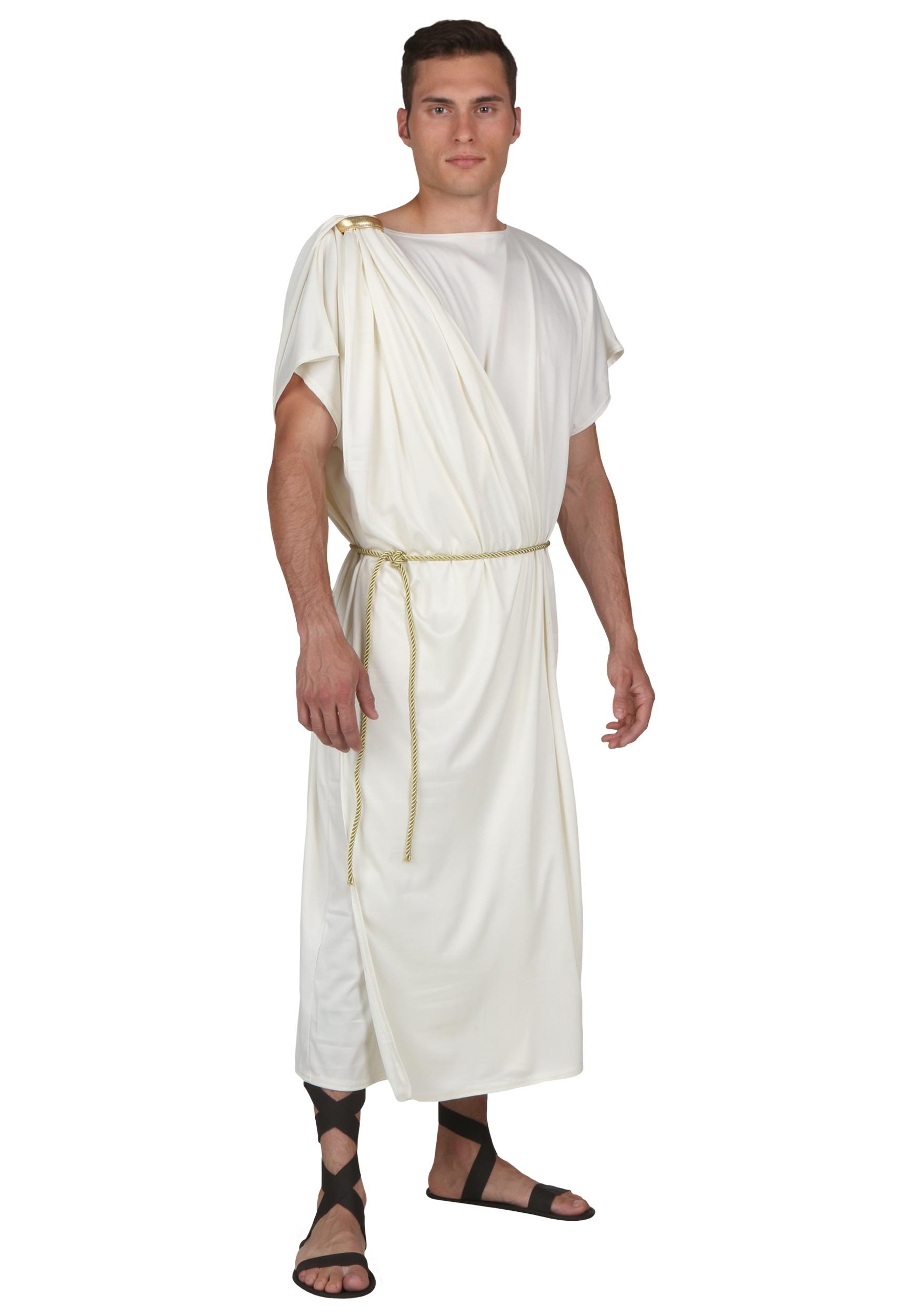 Toga Halloween Fancy Dress Costume for Men