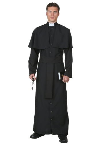 Deluxe Priest Mens Costume