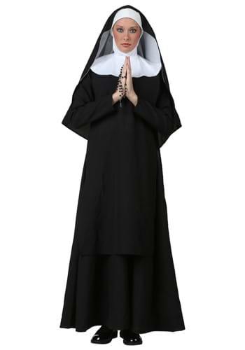 Women's Deluxe Nun Costume