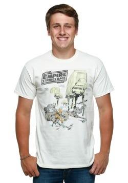 Hoth Battle Men's T-Shirt