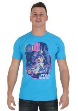 Star Wars Acid Dawn Turquoise Men's Tee