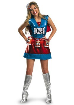 Womens Sexy Duffwoman Costume
