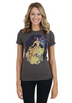 Disney Illustrated Belle Juniors T-Shirt
