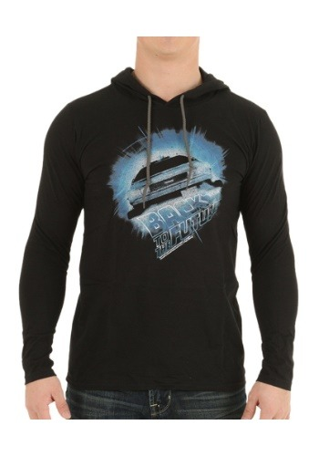 Back To The Future Go Go Go LS Hooded Tee