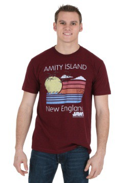 Jaws Amity Island Sunset Men's T-Shirt