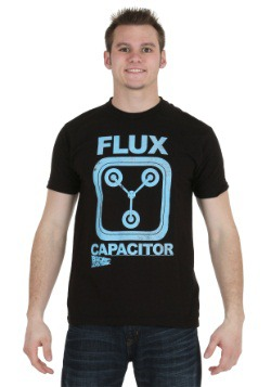 Back To The Future Flux Capacitor Charcoal Heather T-Shirt