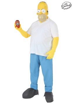 Plus Size Homer Costume1
