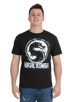 Mortal Kombat Chalk Logo T-Shirt