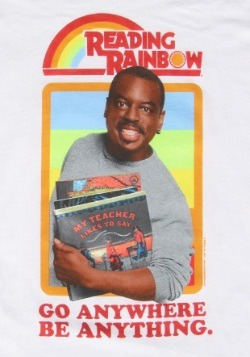 Reading Rainbow LeVar Burton Men's T-Shirt1
