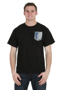 Attack On Titan Survey Corps Shield Crest T-Shirt