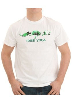 Irish Yoga White T-Shirt